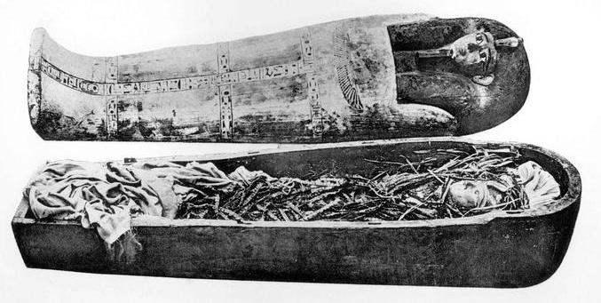 Momia de Amenhotep I