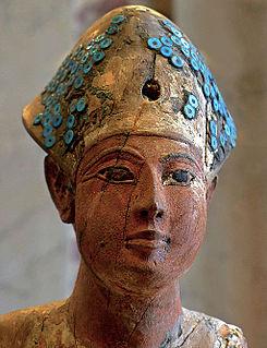Amenofis I. Faraón de la Dinastía XVIII de Egipto.