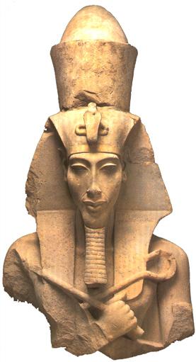 Amenofis IV. estatua