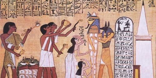 Estelas funerarias en el Imperio medio