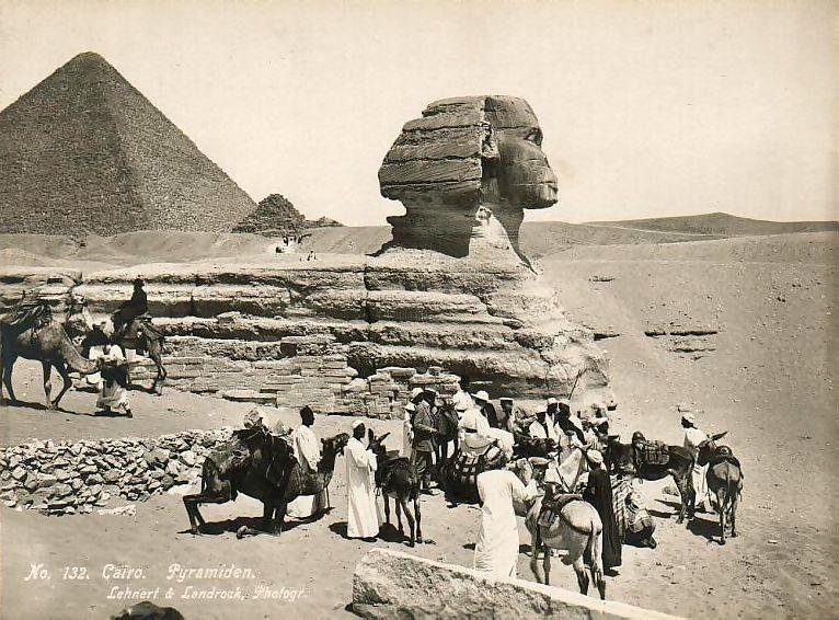 Fotografos en las espediciones a Egipto