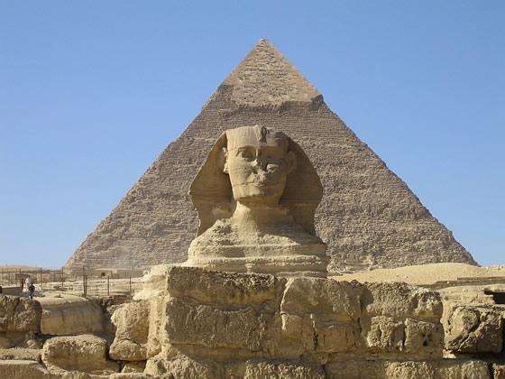 La esfinge de Giza.