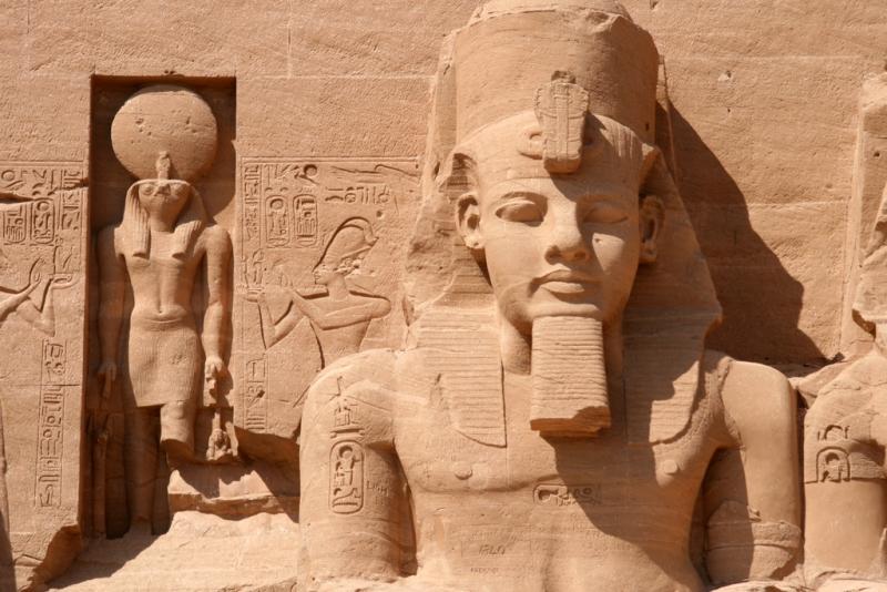 Ramses II escultura