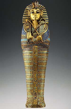 Tutankamón. Féretro