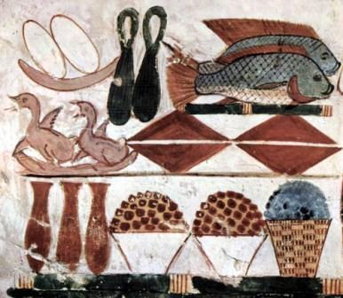 -la alimentación en Egipto