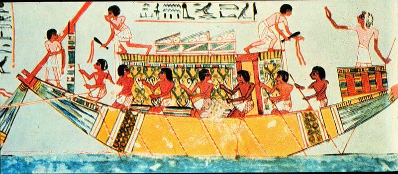 las embarcaciones-