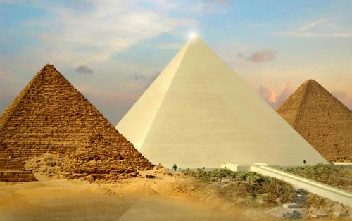 Como eran las piramides