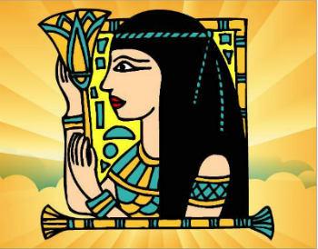 Egipto para niños la reina Cleopatra