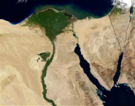 Egipto para niños El rio Nilo