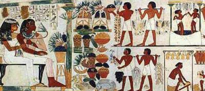 Egipto para niños: la comida