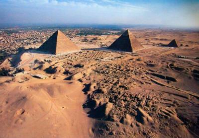 Egipto para niños las piramides de Giza