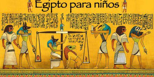 Egipto para niños