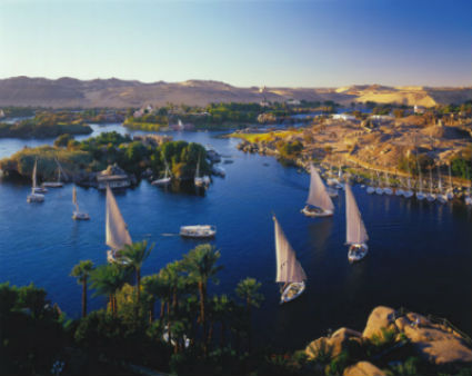 El rio Nilo Antigo Egipto para niños