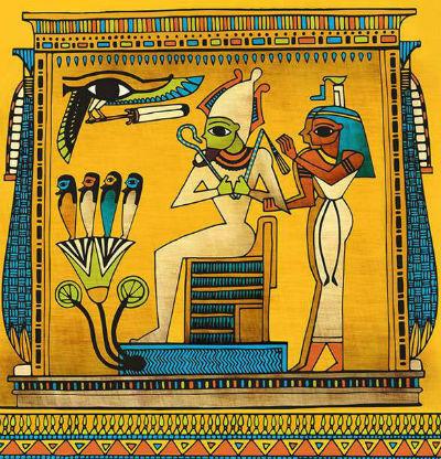 Mural Piramide Egipcia