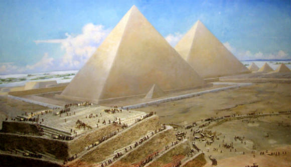 Las antiguas piramides