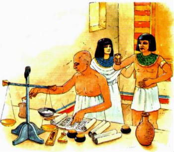Los medicos en el Antiguo Egipto