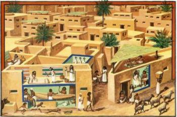 Antiguo Egipto para niños: Viviendas