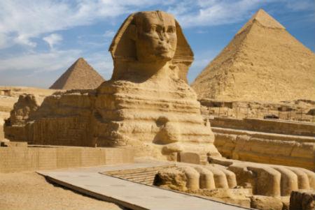 la gran esfinge del Antiguo Egipto para niños