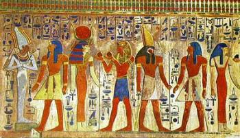 la ropa de los antiguos egipcios