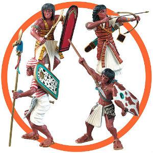 Los guerreros egipcios